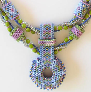 Aurora Beaded Jewelry Necklace