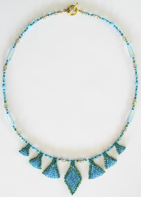 Brick Stitch Necklace Bead kit