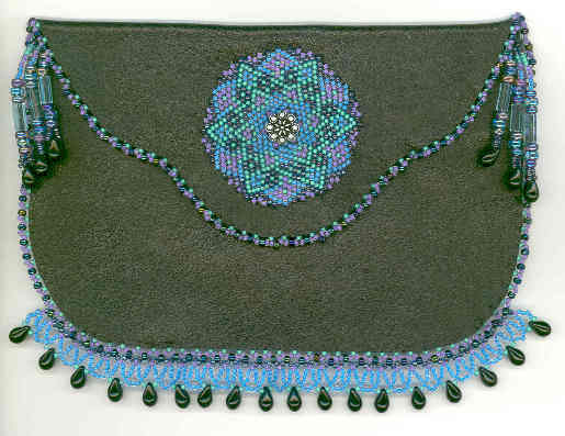 Beaded Jewelry Purse