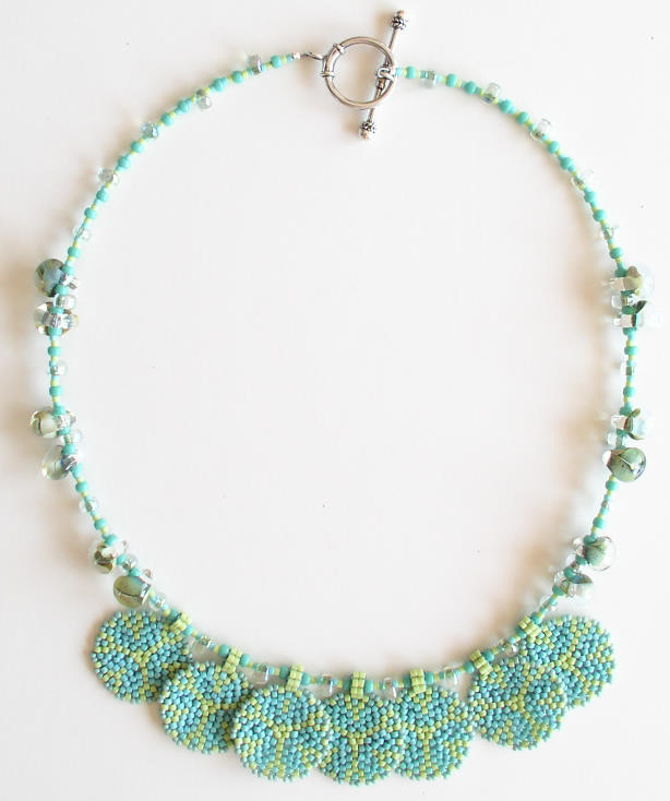 Circular Peyote Necklace Bead Kit