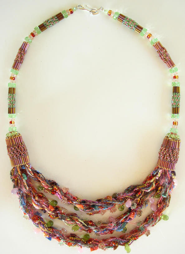 Fiber Necklace Bead Kit
