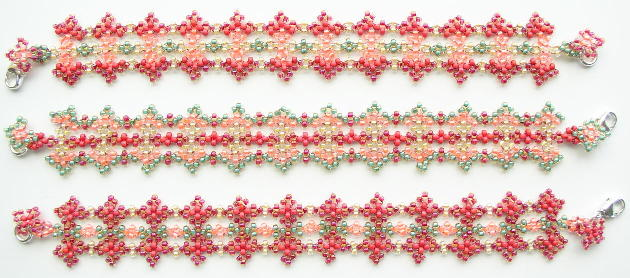 Beaded Jewelry By Linda Richmond Able Bead Patterns From Tested Kits