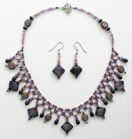 Netted Fringe Choker Bead Kit