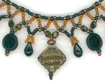 Choker Black and Tigers Eye