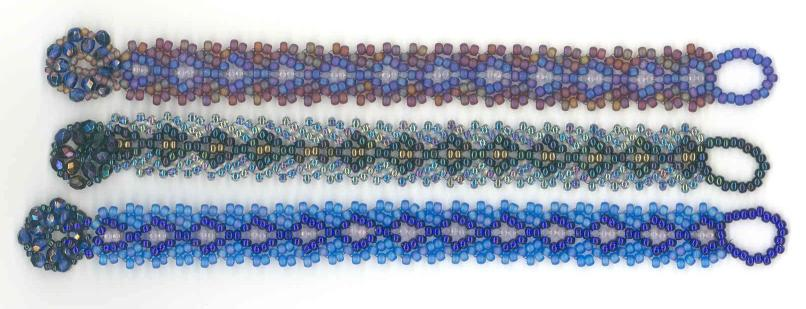 Russian Chevron Bracelet Bead Kit