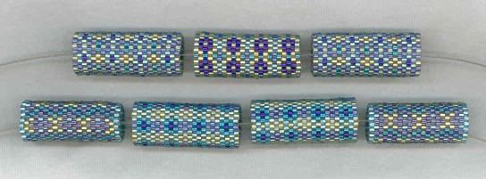 Blue Beaded Bead Kit
