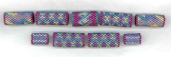 Fuschia Beaded Bead kit