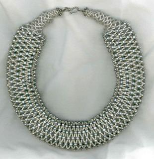 Netted Pearl Choker Bead Kit