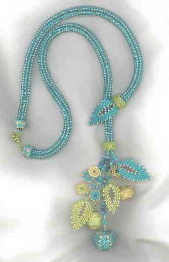 Spring Lariat Beaded Jewelry Kit