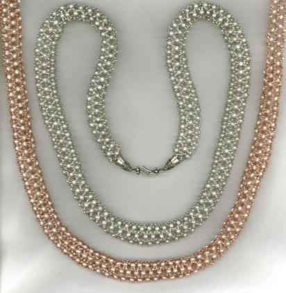 Netted Pearl Rope Bead Kit